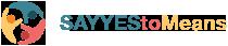 SAYYEStoMeans Logo